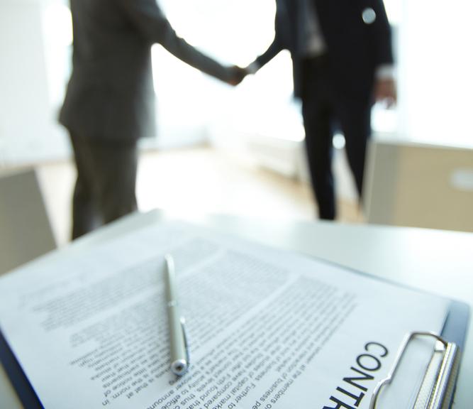 Arbeitsvertrag oder Handschlag