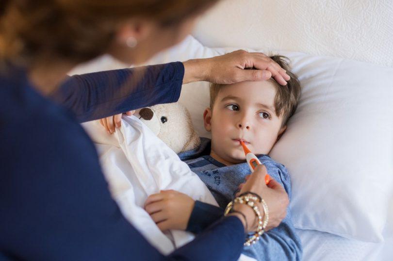 Wenn das Kind krank wird, was tun?